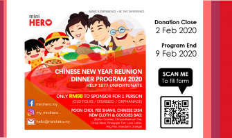CNY Reunion Dinner Program 2019