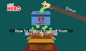 How to proctect yourself from Charity Scam?