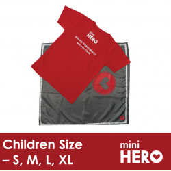 Mini Hero Children Outfit with Cape