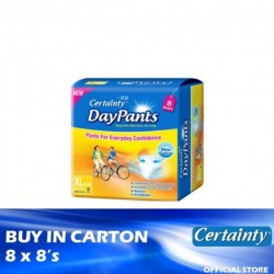 Certainty Daypants Regular Pack XL 8 x 8's