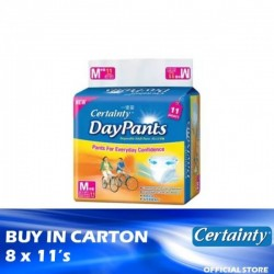 Certainty Daypants Regular Pack M 8 x 11's