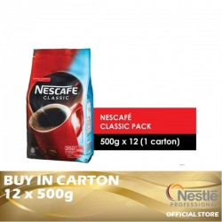 Nestle Professional Nescafe Classic Refill Pack 12 x 500g