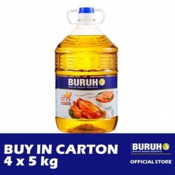 Buruh (Labour) Refined Cooking Oil 4 x 5kg