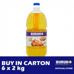 Buruh (Labour) Refined Cooking Oil 6 x 2kg