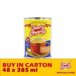 Dairy Champ Sweetened Creamer Milk 48 x 385g
