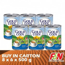 F&N Gold Coin Sweetened Condensed (EOE) 8 x 6 x 500g