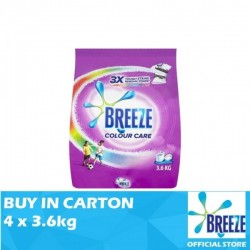 Breeze Powder Color Care 4 x 3.6kg