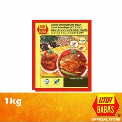 Baba's Hot & Spicy Fish Curry Powder 1kg