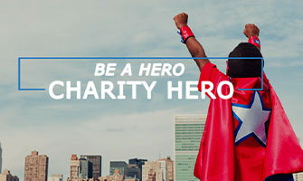 Be a Hero Charity Hero